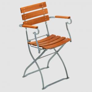 Gartenstühle mit Armlehne, Biergartenmöbel